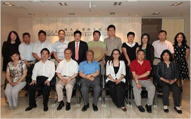 民建领导视察锦天城律师事务所北京分所